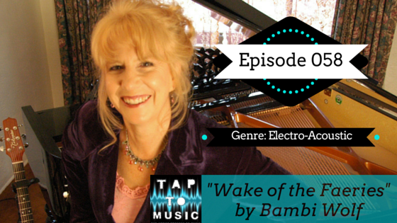 Bambi Wolf TAP to Music ITunes Podcast!